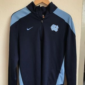 Nike Fit UNC Men's Quarter Zip Pullover
